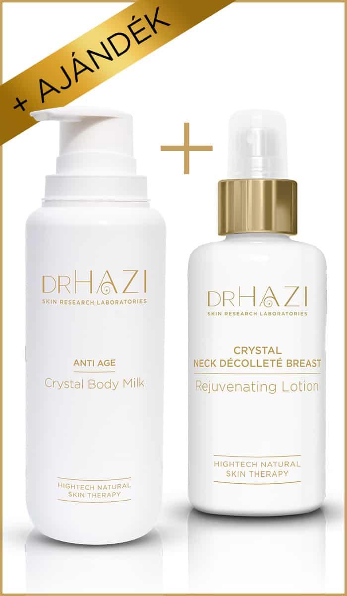 BLACK FRIDAY ajándék DRHAZI-tól BLACK FRIDAY  Kristály fiatalító testápoló tej