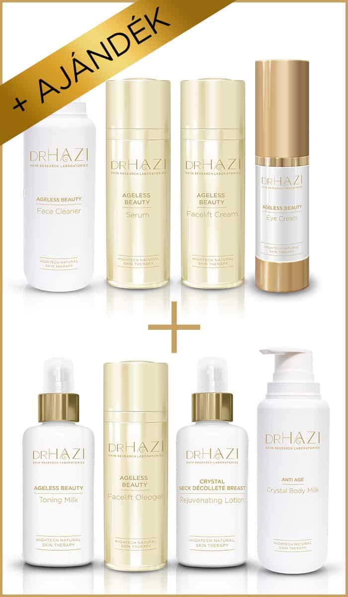 BLACK FRIDAY ajándék DRHAZI-tól BLACK FRIDAY Szépítő Facelift kezelési sor 4+4 ajándék