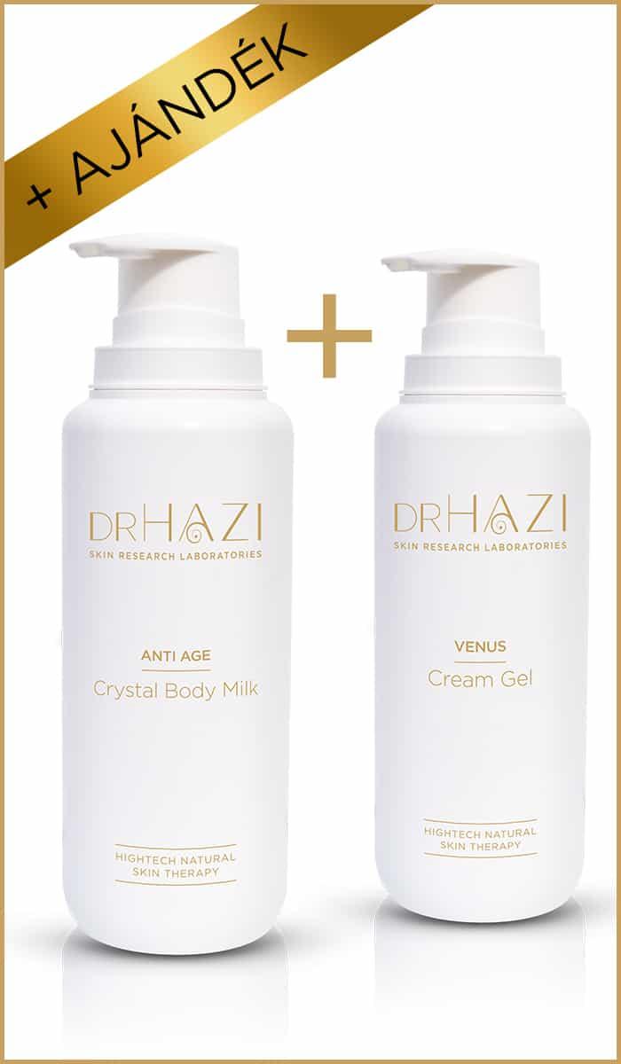 BLACK FRIDAY ajándék DRHAZI-tól BLACK FRIDAY  Kristály fiatalító testápoló tej + Vénusz krémgél