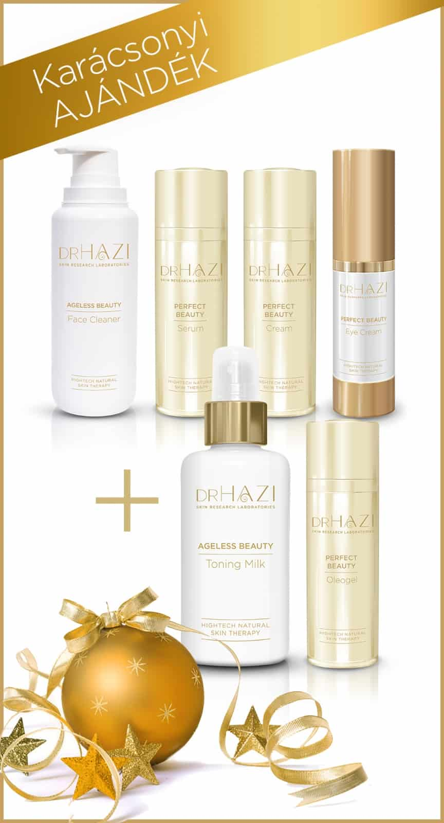 DRHAZI CHRISTMAS Karácsonyi csomag PERFECT Beauty 4 +2  50% OFF