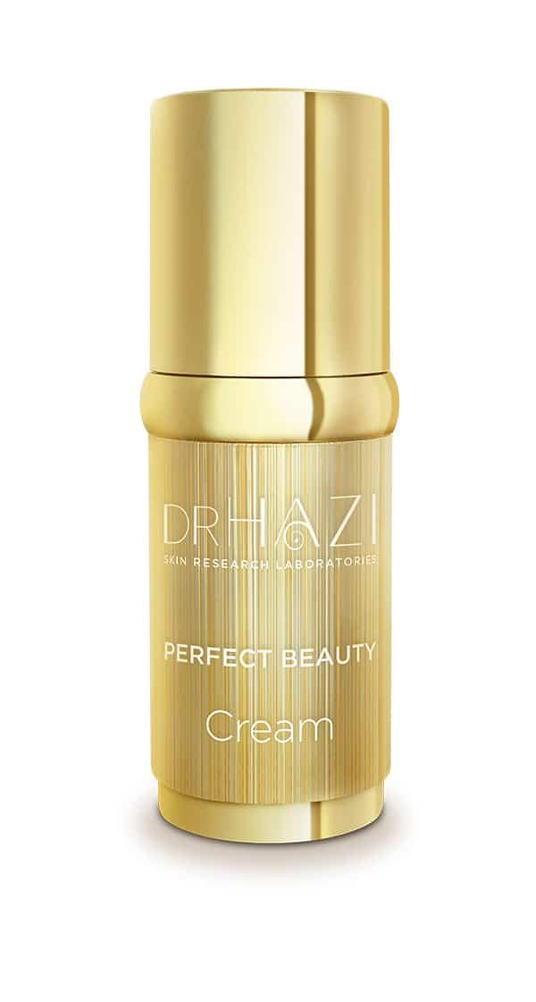 Luxury women skin rejuvenation with nanopeptids and crystals Luxus Szépítő Kristály Krém
