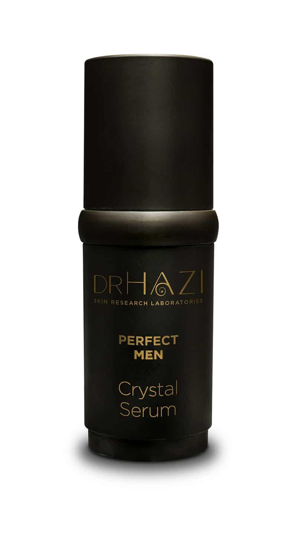 LUXURY men skin rejuvenation with nanopeptides and crystals Férfi Luxus Kristály Szérum